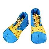 Honeystore Unisex Adult Jumbo Large Clown Shoes Halloween Costumes Accessories Blue