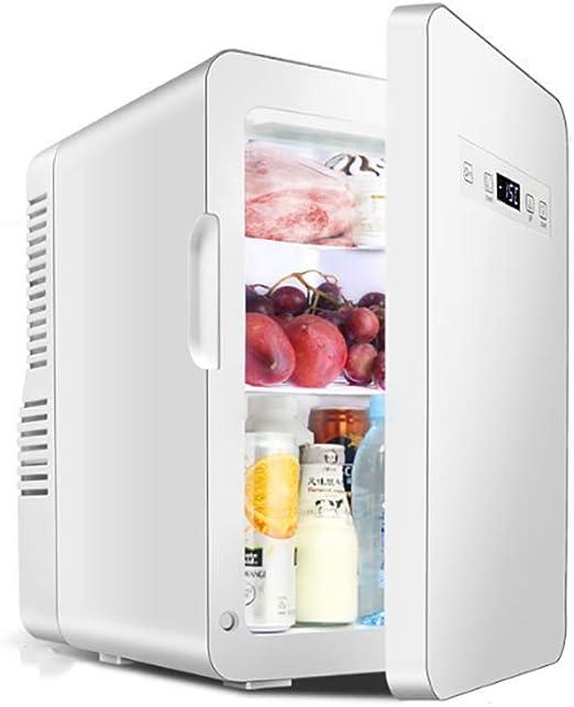 QJJML Mini Refrigerador PequeñO, (-15 Grados De CongelacióN + ...