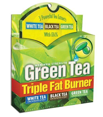 Applied Nutrition thé vert Triple Fat Burner, 30 Liquide Soft-Gels (Pack de 3)