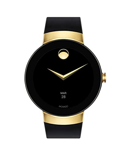 006215beb Amazon.com  Movado Connect Digital Smart Module Yellow Gold Smartwatch