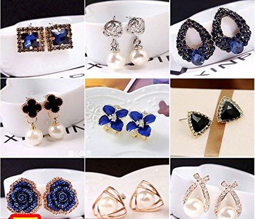 Korean trinkets Wild Temperament Simple Frosted Golf Ball Earrings Cute Earrings Women Girls Small Ears Earrings Earrings Ear Acupuncture