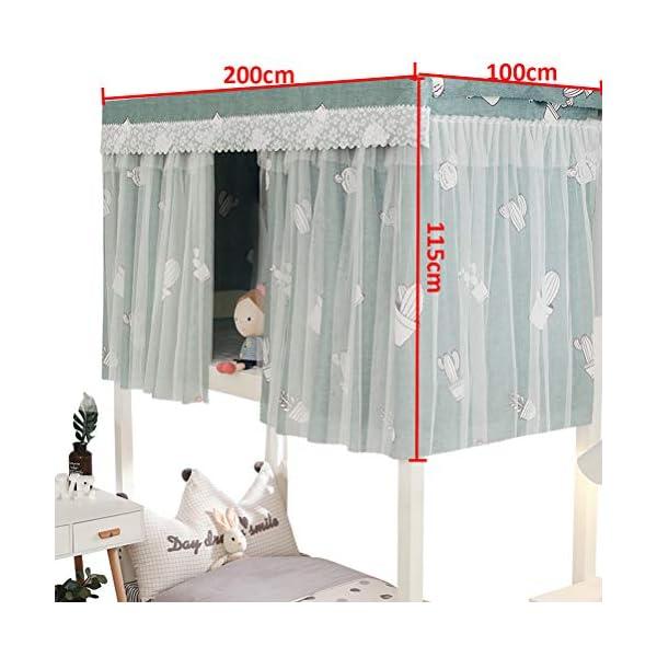 ZXYSR Dormitorio per Studenti Tenda per Letto Dormitorio Blackout Tenda per Letto Zanzariera Tenda per Letto A Castello… 5 spesavip