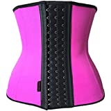 Women's Postpartum Girdle Back Postnatal Recovery Tummy Trimmer Waist Trainer  Pink  Small