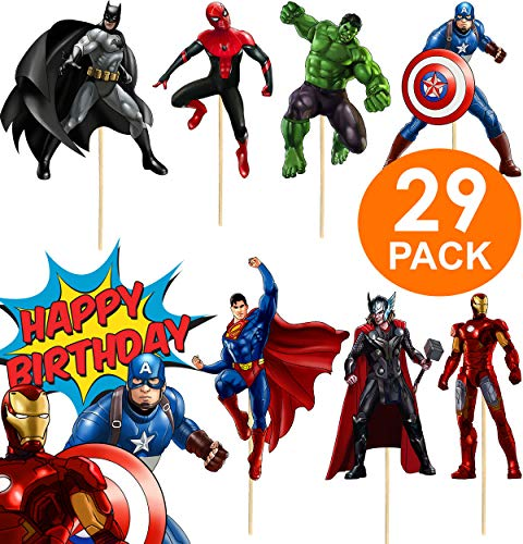 Super Cute Superhero Party Supplies + FREE Superhero