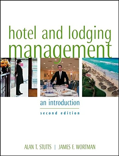 Hotel And Lodging Management  An Introduction  2Nd Edition
