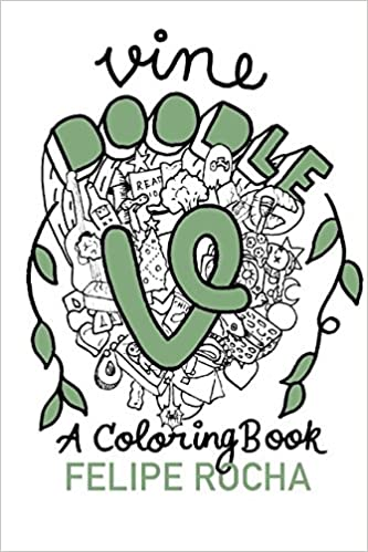 Vine Doodles: A Coloring Book (Vine Doodle Series): Amazon.co.uk ...
