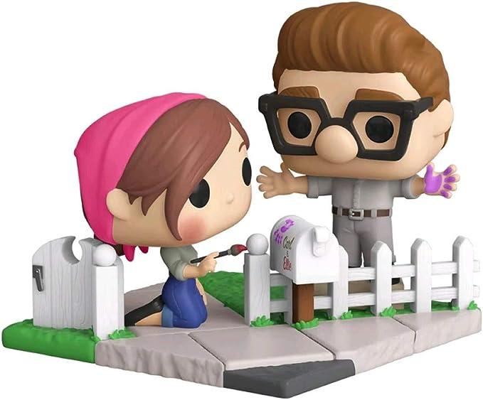 2020 Disney Parks Pixar Up Carl /& Ellie Adventure 18x18 Decorative Throw Pillow