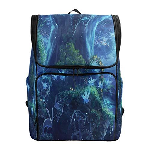 (Travel Backpack Beautiful Mori Ridge Elf Sprot Backpack for Women Big Hunting Daypack)