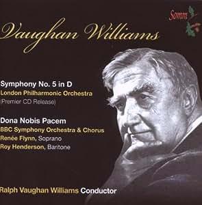 Williams: Symphony No. 5 in D / Dona Nobis Pacem