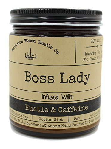 Boss Lady, Expresso Yo' Self Infused with Hustle & Caffeine, All-Natural Organic