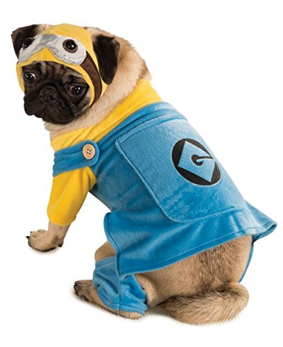 Minion Costume Dog (Minion Despicable Me Pet Costume -Dog)