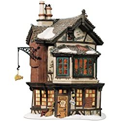 Department 56 Dickens' Village Ebenezer Scrooge's House Lit House
