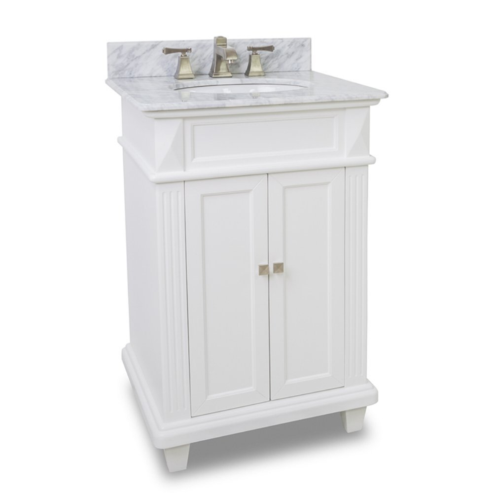 Elements Van094 T Mw Douglas Vanity Painted White Vanity Sinks