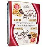 HealthSmart ChocoRite, Cookie Dough, Protein Bar, 12 Bars, 2.26 oz (64 g) Each HealthSmart Foods, Inc., ChocoRite, Cookie Dough, Protein Bar, 12 Bars, 2.26 oz (64 g) Each
