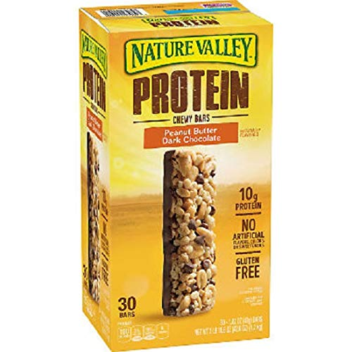 Nature Valley Peanut Butter Dark Chocolate Protein Chewy Bars (1.42 oz, 30 ct.)