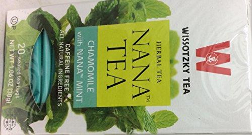 (Wissotzky Tea Nana Tea Chamomile Kosher For Passover 1.06 Oz. Pack Of 6)