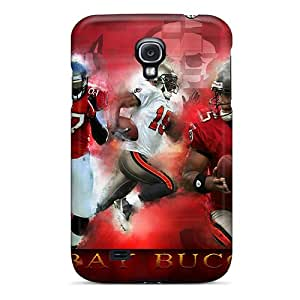 PhilHolmes Samsung Galaxy S4 High Quality Cell-phone Hard Cover Unique Design Attractive Tampa Bay Buccaneers Series [HuG11293MQeN]