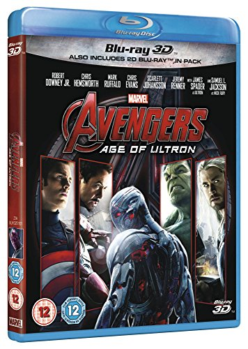 Avengers: Age of Ultron [Blu-ray 3D] [Region Free]