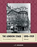 The London Stage 1890-1959 : Accumulated Indexes, Wearing, J. P., 0810893207