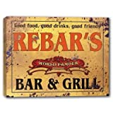 REBAR'S World Famous Bar & Grill Canvas Print 16