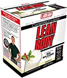 Labrada Nutrition Carb Watchers Lean Body Hi-Protein Meal Replacement Shake, Vanilla, 2.29-Oz. Packets (Pack of 20)