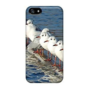 New Diy Design Seaguls Think Different For Iphone 5/5s Cases Comfortable For Lovers And Friends For Christmas Gifts