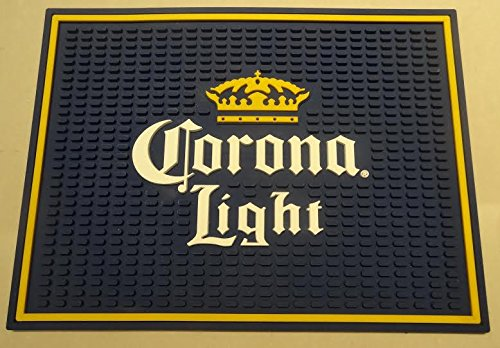 Corona Light Professional Wait Station Bar Mat Spill Mat Drip ()