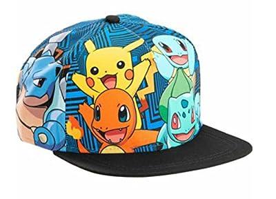 Pokemon Character Snapback Hat, Multi, One Size