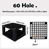 Tavolozza 60 Hole Multi-Level plastic Pencil