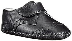 pediped Originals Ashton Crib Shoe (Infant),Black,Small (6-12 Months)