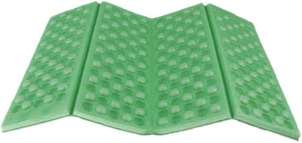 Faltbare Schaum Sitzmatte im Freien Mat tragbare Falten Sitzkissen wasserdichte Geschirr Matte f/ür Sport