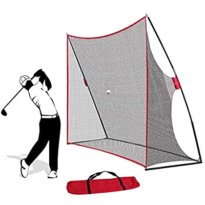 ZENY Portable Golf Hitting Net 10x7ft Golf Nets Netting for Backyard Driving Large,Golfing Practice Indoor Outdoor Sports Net w/Carry Bag (Golf net)