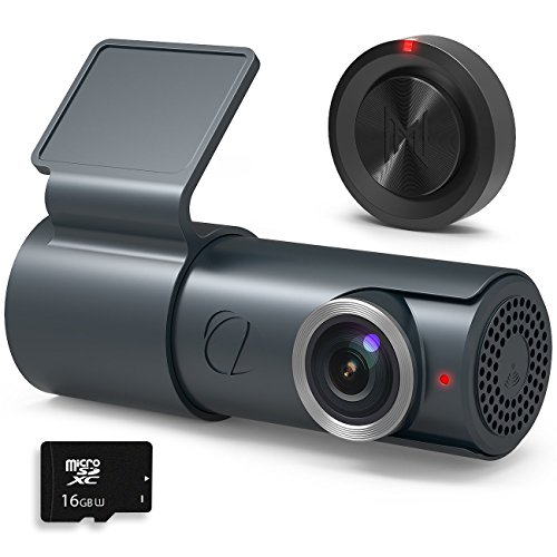 GOLUK T3 Dash Cam Full HD 1080P Night Vision WiFi with Wide Angle,WDR Dashboard Camera DVR Camcorder-G-sensor Parking Security and Loop Recording by BlackboxMyCar
