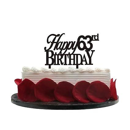 Minhero Lee - Decoración para tarta de 63º cumpleaños, color ...