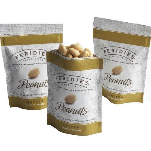 3oz Bag Salted Virginia Peanuts