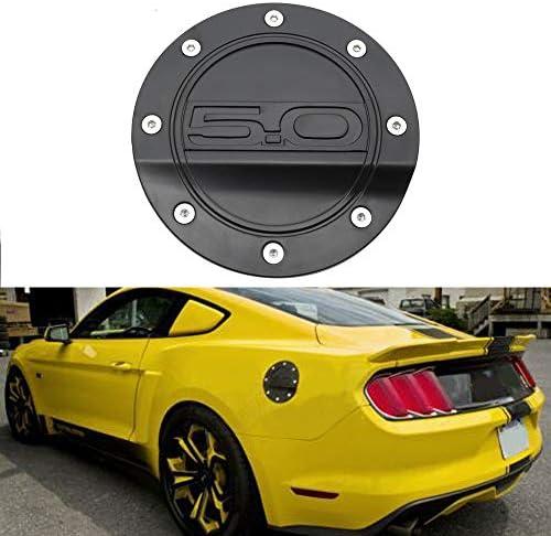 N A Autotankabdeckung Tankdeckel Für Ford Mustang Gt 5 0 2015 2019 Fuel Filler Door Cover Gas Tank Cap Ölfilterbox Car Styling Zubehör Küche Haushalt