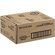 Kraft Philadelphia Light Cream Cheese - Cup, 3/4 Ounce - 100 per case.