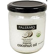 Palermo Organic Refined Coconut Oil, 14 Fluid Ounce