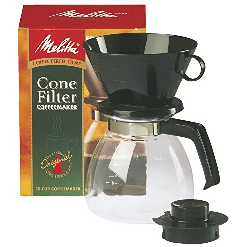 Melitta Cone Filter Coffeemaker 10 Cup, 1-Count