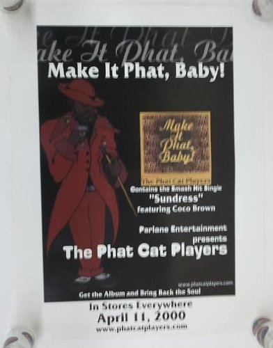 - THE PHAT CAT PLAYERS - MAKE IT PHAT, BABY! 17x23 POSTER P646