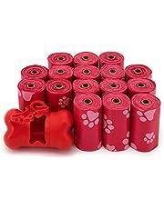 أكياس فضلات الكلاب من بيست بت سابلايز، مقاومة للتمزق، أكياس نفايات الكلاب مع تقنية دي تو لايف البلاستيكية