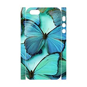 Butterfly 3D-Printed ZLB539187 Brand New 3D Cover Case for Iphone 5,5S