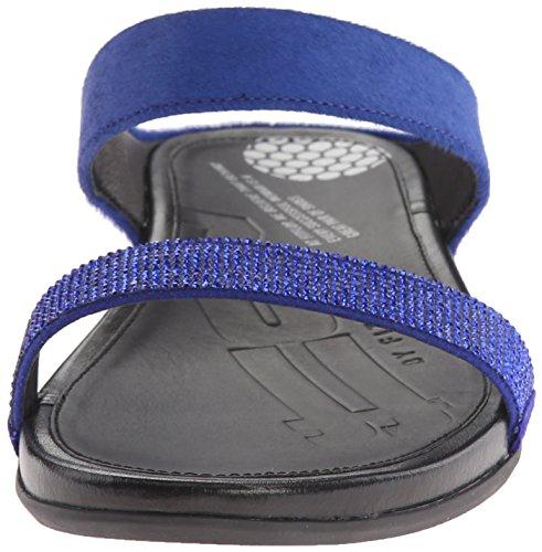 FF2 Di Fitflop Banda Micro Crystal Diapositiva Mazarine Blu UK5 Mazarine Blu