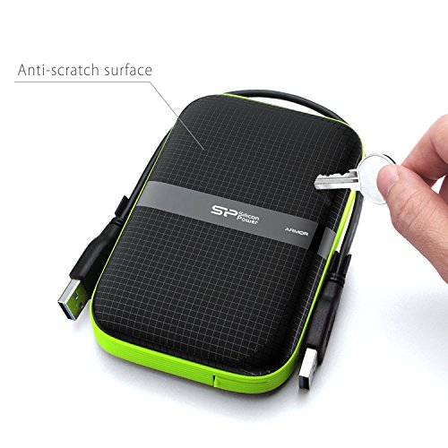 Silicon Power 2TB Rugged Portable External Hard Drive Armor A60, Shockproof USB 3.0 for PC, Mac, Xbox and PS4, Black by Silicon Power (Image #4)