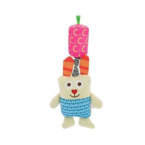 Sonajero bebé suave juguete sonajero de bebé (algodón juguete de ...