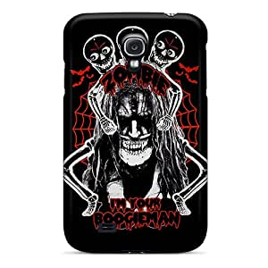 Excellent Hard Cell-phone Cases For Samsung Galaxy S4 With Custom Vivid Rob Zombie Image JonBradica