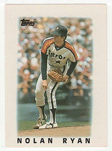 Nolan Mini - Nolan Ryan (Baseball Card) 1986 Topps Mini Leaders # 43 NM/MT