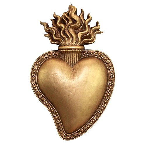 Used, Design Toscano Most Sacred Heart of Jesus Wall Sculpture for sale  Delivered anywhere in USA