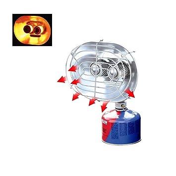 Dream-cool - Calentador portátil de Doble Cabezal para Exteriores, radiador de Rayos Infrarrojos