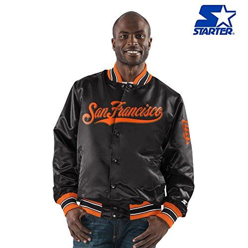 San Francisco Giants Satin Jacket (San Francisco Giants Starter Full Snap Satin Jacket)